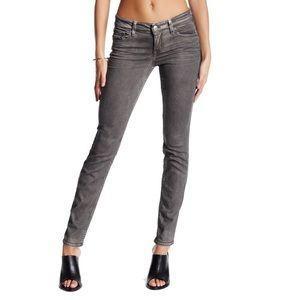 Level 99 Grey Liza Skinny Jeans Size 26
